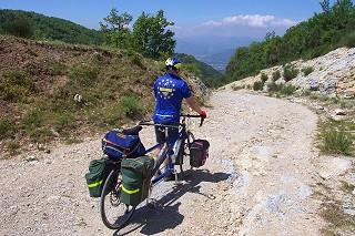 Climbing the Campo Imperatore